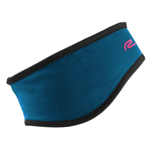 Road Runner Sports Ready to Run Headband Headwear - Peacock Blue L/XL