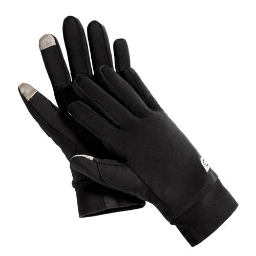 Road Runner Sports Race Ready Touch-Tip Gloves Handwear - Black L/XL