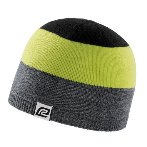 Road Runner Sports Tri More Color Beanie Headwear - Heather/Electrolyte/Black