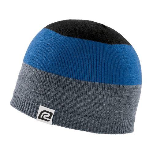 Road Runner Sports Tri More Color Beanie Headwear - Heather/Royal/Black