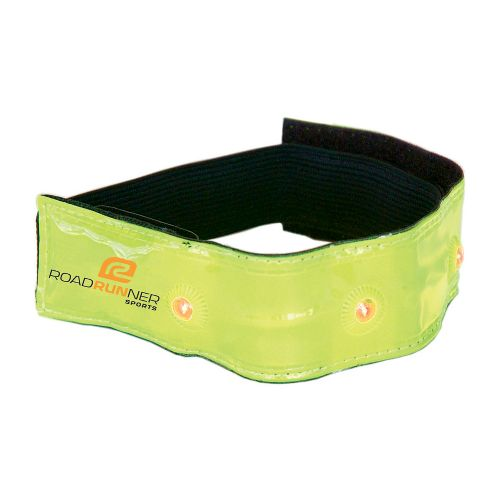 R-Gear Blink Brighter LED Armband Safety - Neon Yellow