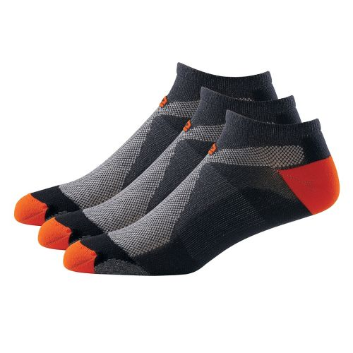 R-Gear Dryroad Simple & Speedy Thin Low Cut 3 pack Socks - Gunmetal/Burnt Orange XL ...