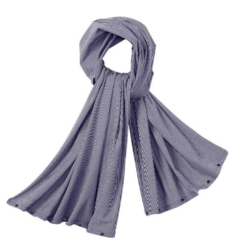 Womens R-Gear Wrap It Up Scarf Headwear - Plum Pop/Stripe