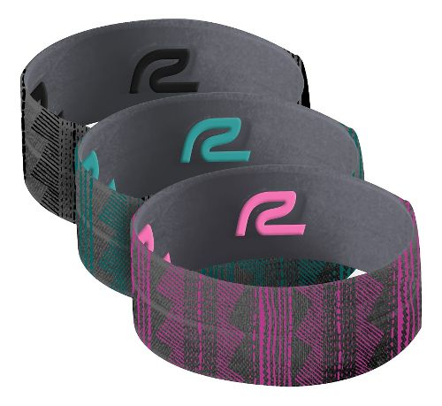 Road Runner Sports Banzai Hair Tie 3 pack Headwear - Black/Tribal