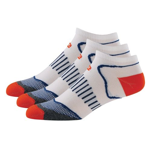 R-Gear Dryroad Simple & Speedy Low Cut 3 pack Socks - Burnt Orange/Midnight Blue M ...