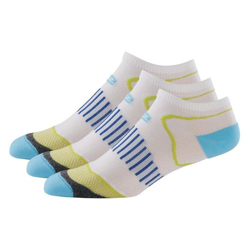 R-Gear Dryroad Simple & Speedy Thin Low Cut 3 pack Socks - Sea Glass Blue/Limeade ...