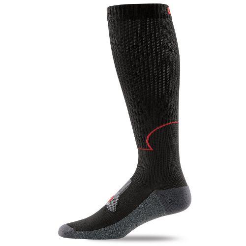 Road Runner Sports Go Stronger, Longer Compression Socks - Black XL