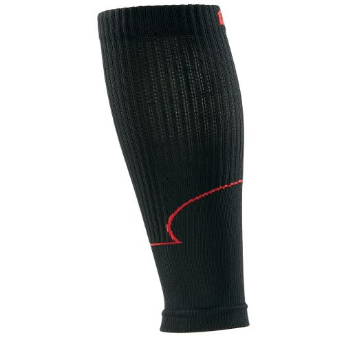 Road Runner Sports Go Stronger, Longer Compression Calf Sleeves Injury Recovery - Black M