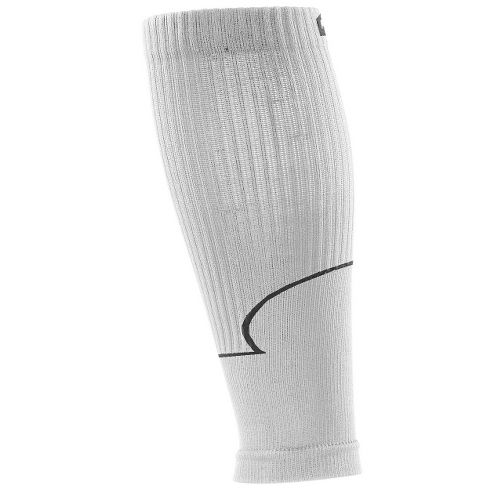 Road Runner Sports Go Stronger, Longer Compression Calf Sleeves Injury Recovery - White S