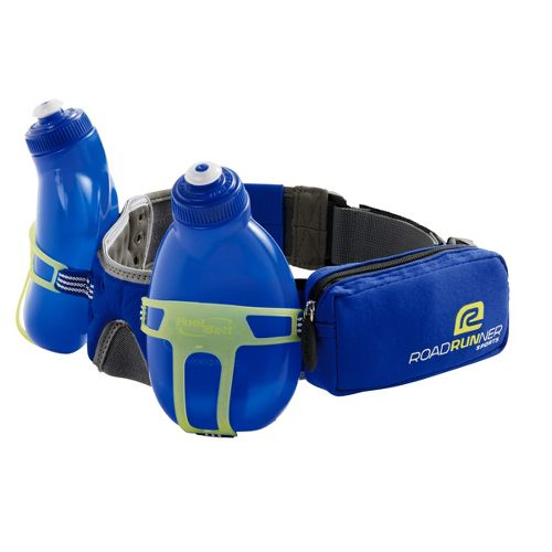 R-Gear Double Take 2-bottle Belt Hydration - Cobalt