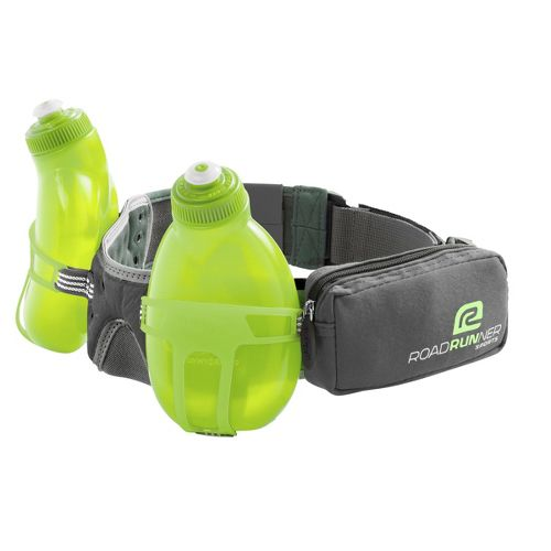 R-Gear Double Take 2-bottle Belt Hydration - Grey