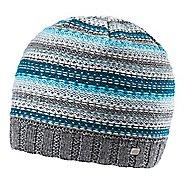 Womens Road Runner Sports Lucky Striped Beanie Headwear