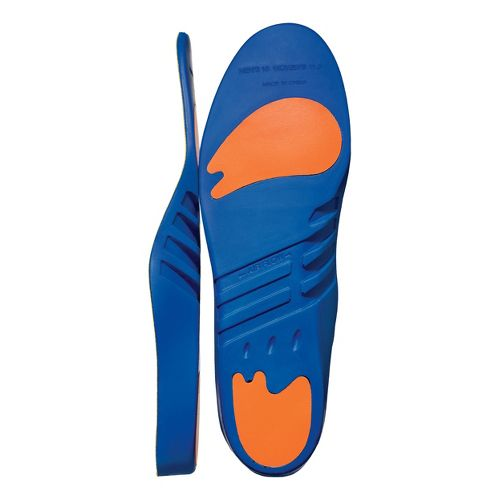 Road Runner Sports Plush Cushion Insole - Blue/Orange D