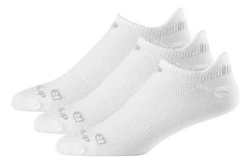 R-Gear Drymax Dry-As-A-Bone Thin No Show Tab 3 pack Socks - White S