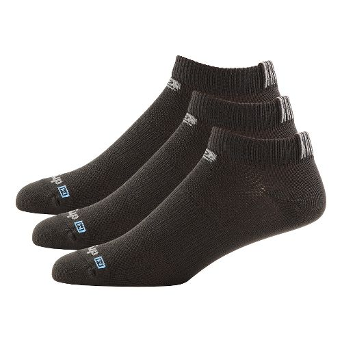 R-Gear Drymax Dry-As-A-Bone Thin Low 3 pack Socks - Black M