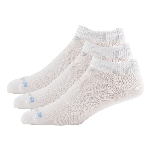 R-Gear Drymax Dry-As-A-Bone Thin Low 3 pack Socks - White M