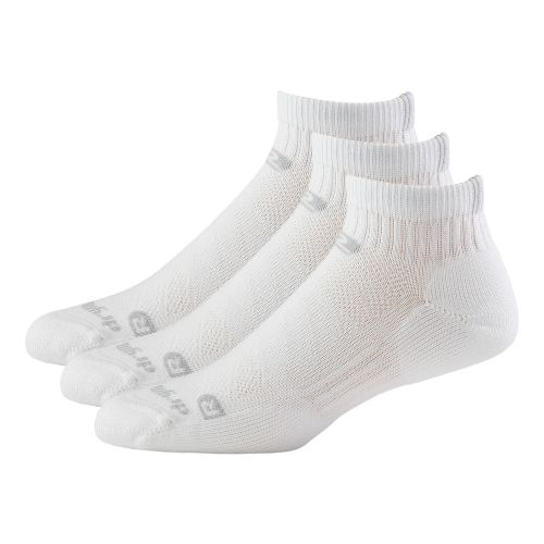 R-Gear Drymax Dry-As-A-Bone Thick Cushion Quarter 3 pack Socks - White M