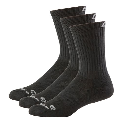 R-Gear Drymax Dry-As-A-Bone Thick Cushion Crew 3 pack Socks - Black M