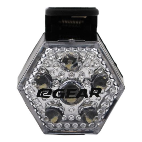 Road Runner Sports Light Up Your Night LED Light Safety - Clear