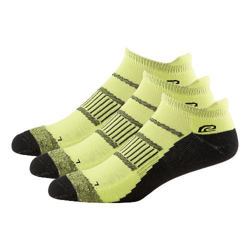 Mens Road Runner Sports Dryroad Simple & Speedy Thin No Show 3 pack Socks - ...