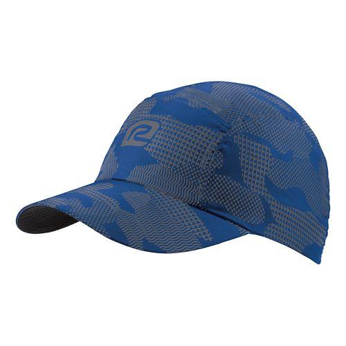 R-Gear Seize the Day Camo Cap Headwear - Cobalt/Charcoal