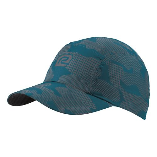 R-Gear Seize the Day Camo Cap Headwear - Teal/Charcoal