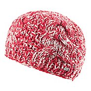 Womens Road Runner Sports Stitch In Time Cable Knit Beanie Headwear