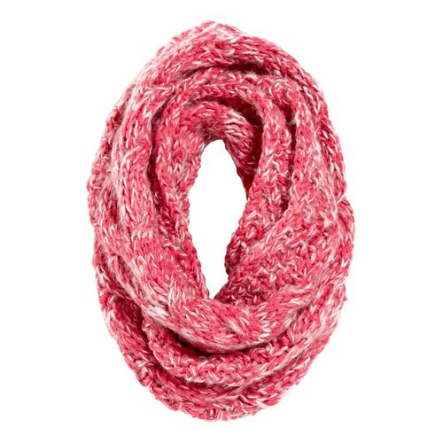 Womens Road Runner Sports Stitch In Time Cable Knit Infinity Scarf Headwear - Passion Punch ...