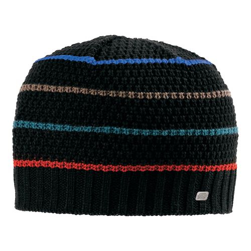 Mens Road Runner Sports Put A Lid On It Beanie Headwear - Flame/Heather Charcoal