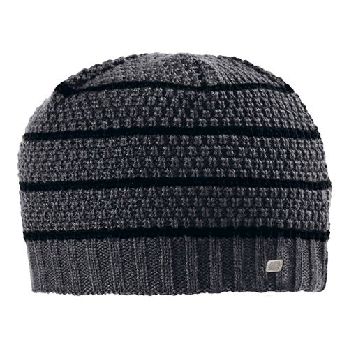Mens Road Runner Sports Put A Lid On It Beanie Headwear - Heather Charcoal