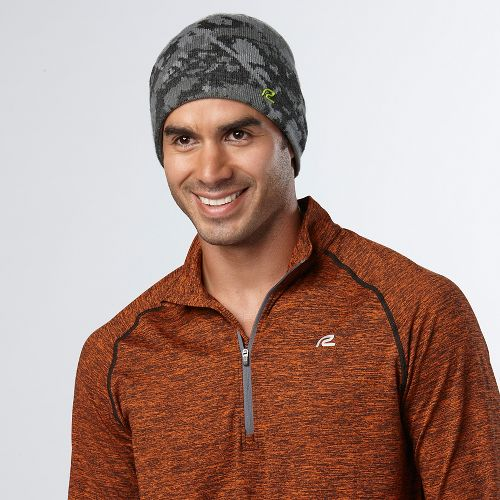 Mens Road Runner Sports In Your Sights Beanie Headwear - Black/Steel