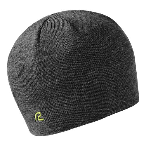 Road Runner Sports Warm It Up Beanie Headwear - Heather Charcoal