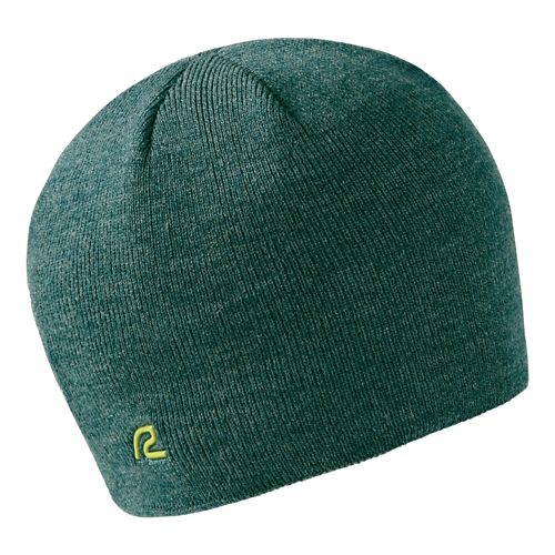 Road Runner Sports Warm It Up Beanie Headwear - Heather Deep Teal