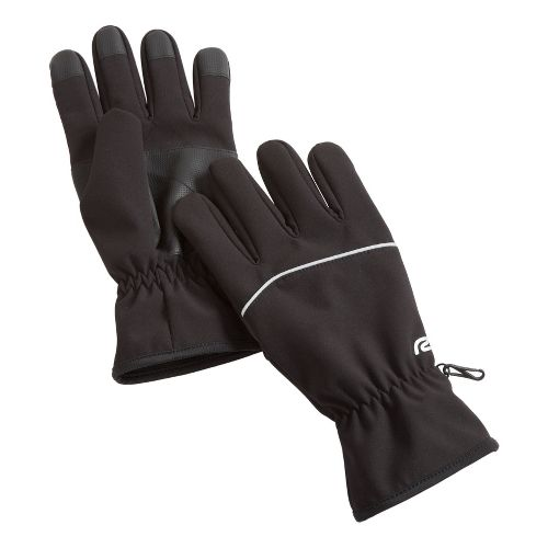 Road Runner Sports Polar Vortex Fighter Soft Shell Gloves Handwear - Black L/XL