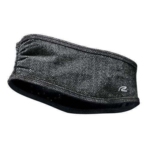 Womens R-Gear Set The Stage Reversible Ear Warmer Headwear - Black/Herringbone