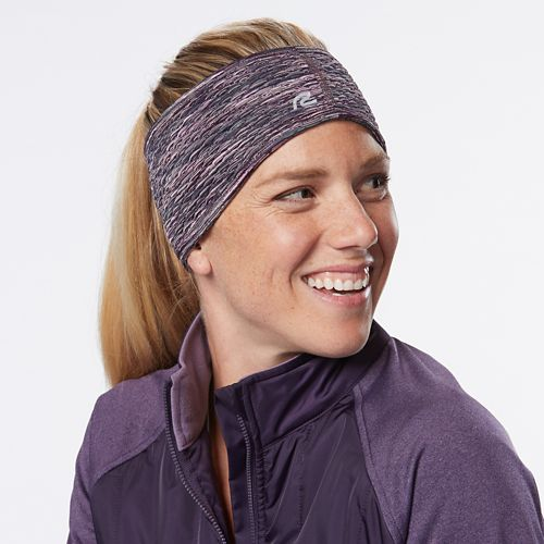 Womens R-Gear Set The Stage Reversible Ear Warmer Headwear - Heather Chrome/Marina S/M