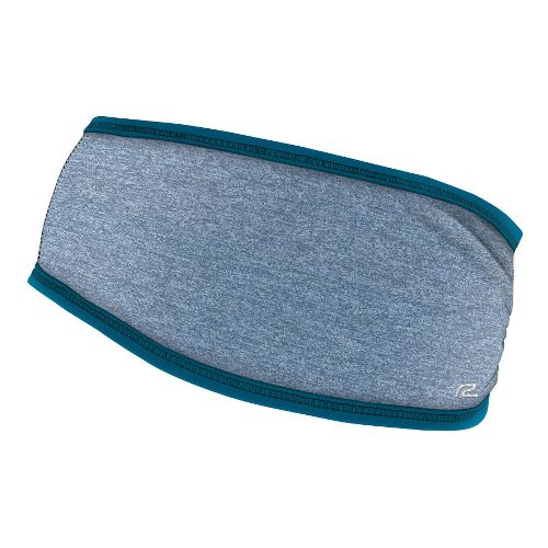 Womens R-Gear Set The Stage Reversible Ear Warmer Headwear - Heather Peacock Blue/Black