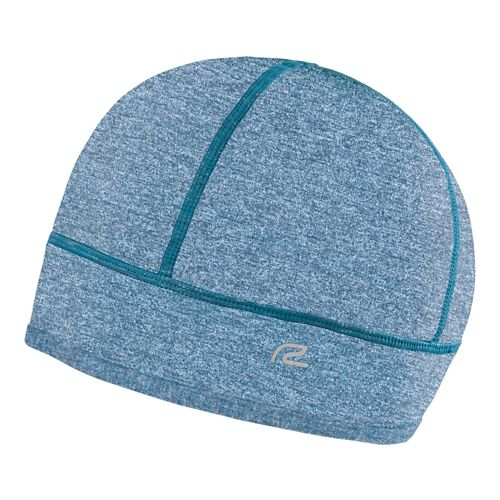 Womens R-Gear Set The Stage Reversible Beanie Headwear - Heather Peacock Blue/Black