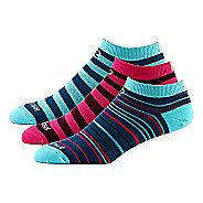 Womens Road Runner Sports Run Out Loud Thin No Show 3 pack Socks