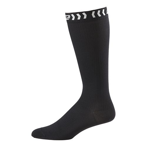Road Runner Sports Speed Pro Compression Socks Injury Recovery - Black M
