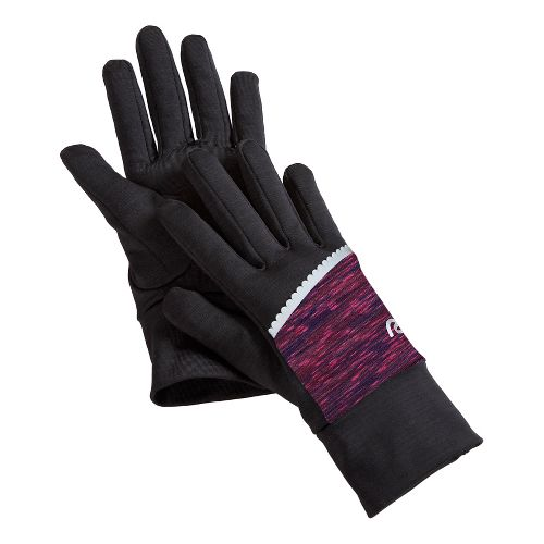 Womens R-Gear Set the Stage Glove Handwear - Black/Mulberry Madness S/M