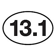Runner Stickers 13.1 Sticker Fitness Equipment