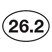 Runner Stickers 26.2 Sticker Fitness Equipment