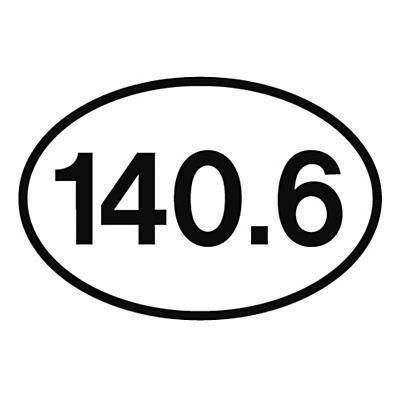 Runner Stickers 140.6 Sticker Fitness Equipment