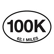 Runner Stickers 100K Sticker Fitness Equipment