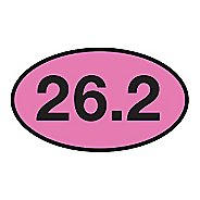 Runner Stickers 26.2 Magnet Fitness Equipment