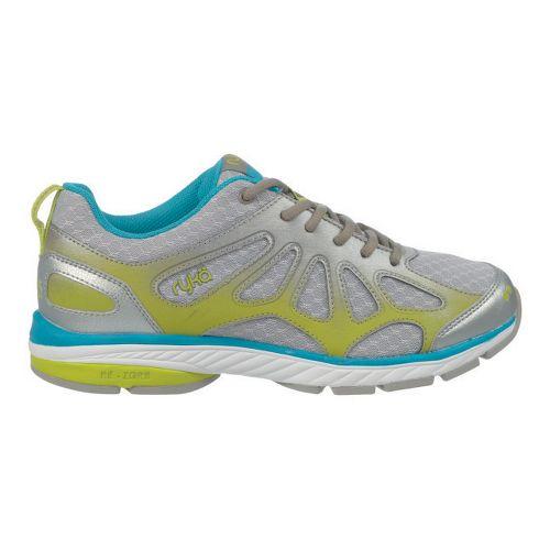 Womens Ryka Fanatic Plus Running Shoe - Chrome Silver/Forge Grey 7