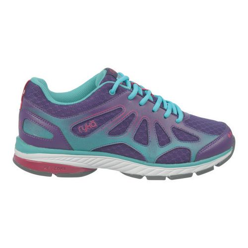 Womens Ryka Fanatic Plus Running Shoe - Majestic Purple/Aqua Haze 10.5