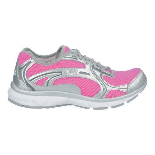 Womens Ryka Prodigy 2 Stretch Running Shoe - Athena Pink/Chrome Silver 11