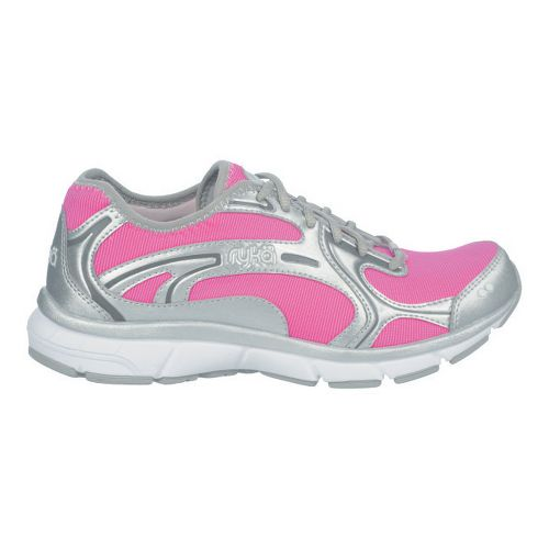 Womens Ryka Prodigy 2 Stretch Running Shoe - Athena Pink/Chrome Silver 6.5